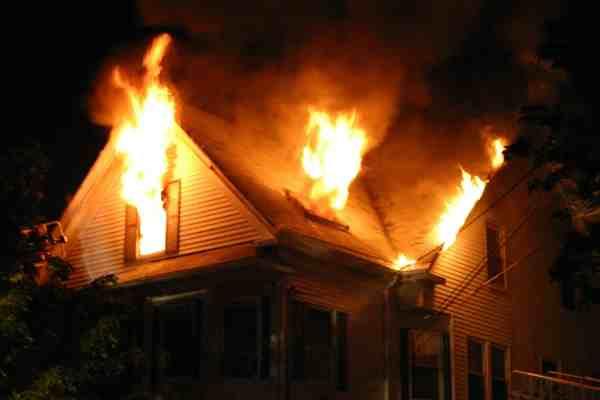 fire damage north charleston sc